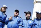 Dans une fusée Blue Origin, William Shatner va enfin dans l'espace